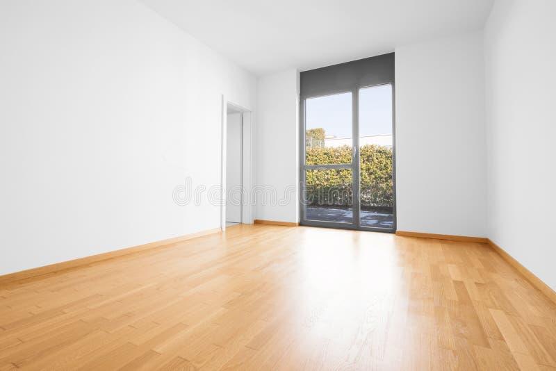 Interior del apartamento moderno, sitio vacío foto de archivo