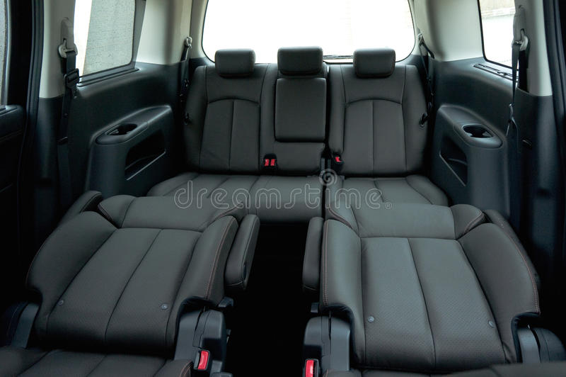 Interior del asiento del coche 7 de Japón fotos de archivo
