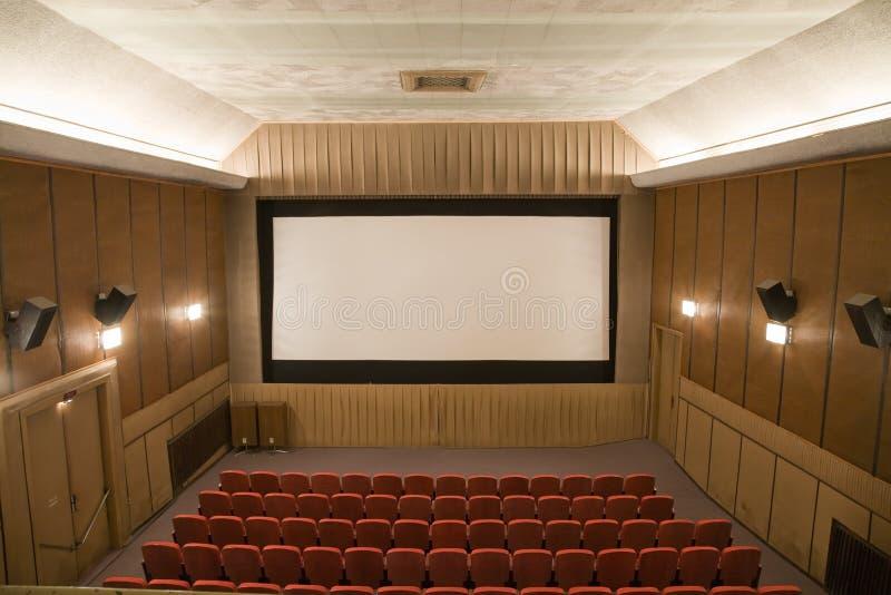 Interior del cine imágenes de archivo libres de regalías