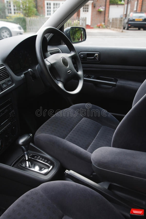 Interior del coche foto de archivo