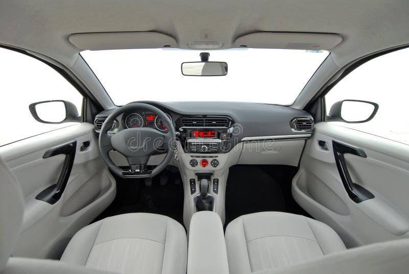 Interior del coche foto de archivo libre de regalías