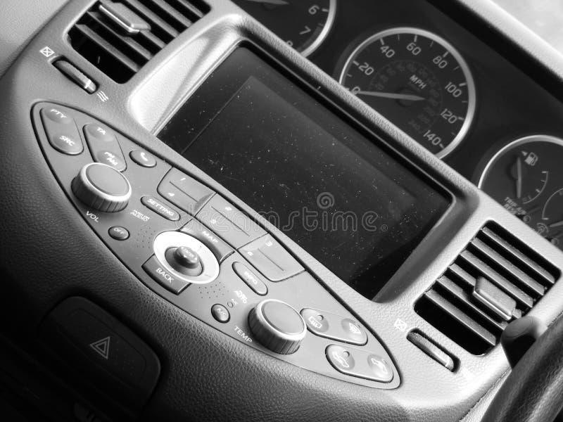 Interior del coche fotos de archivo