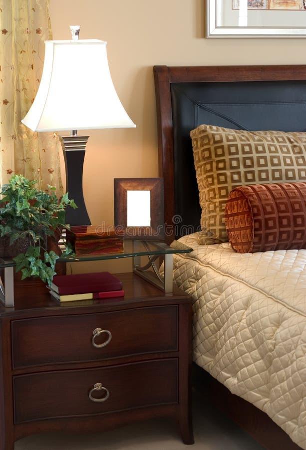 Interior del dormitorio fotos de archivo libres de regalías