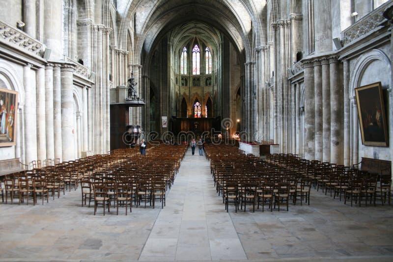 Interior del edificio en Toulouse, Francia imagen de archivo libre de regalías