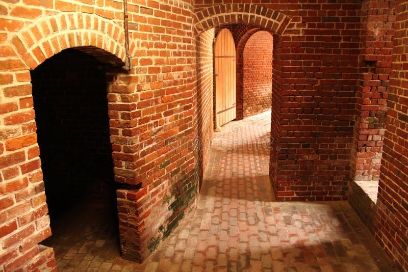 Interior del este de la torre de Martello fotos de archivo libres de regalías