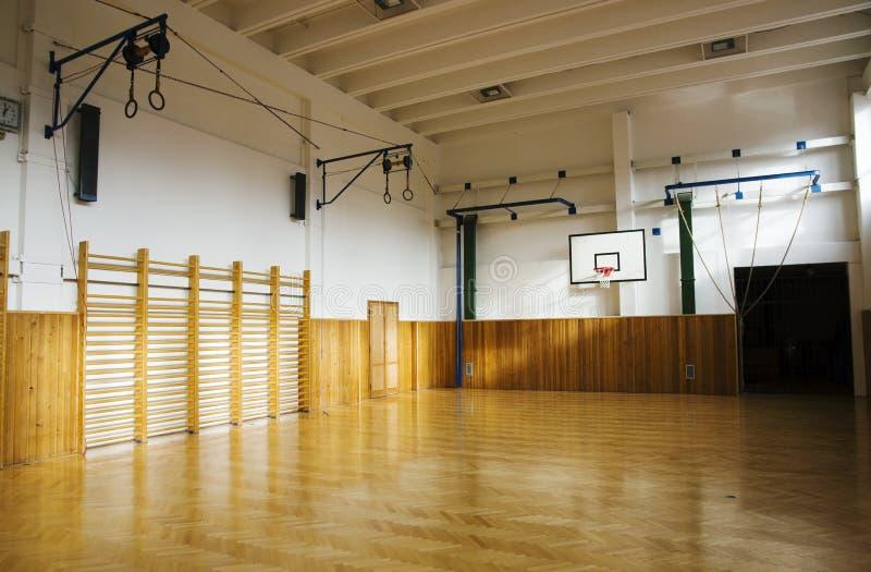 Interior del gimnasio fotografía de archivo