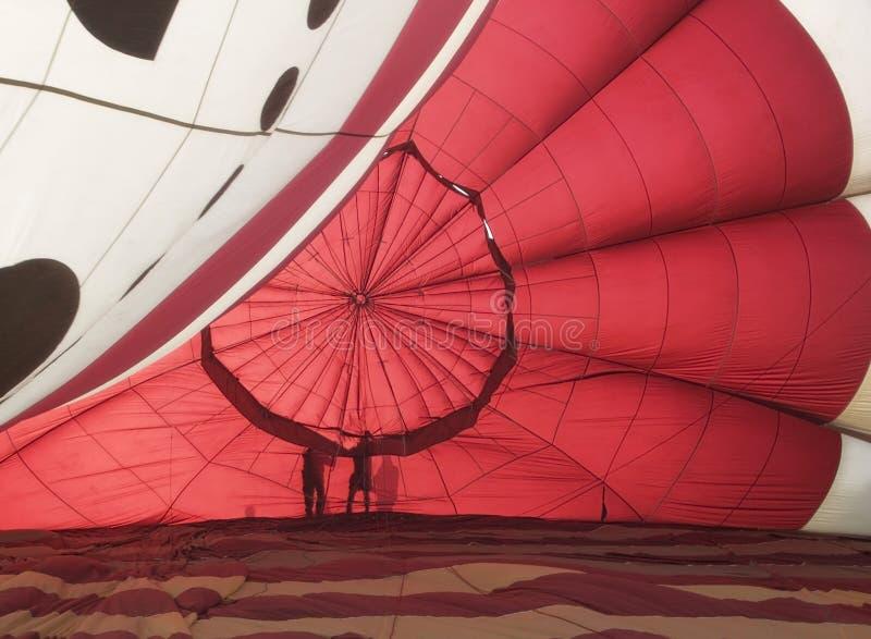 Interior del globo imagen de archivo
