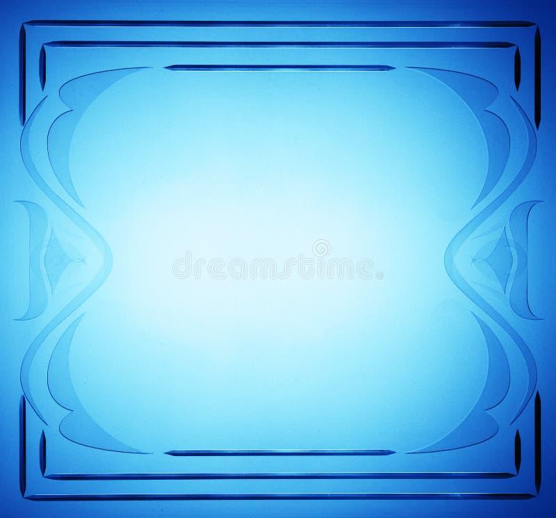 Interior del grunge del color del arte abstracto del marco stock de ilustración
