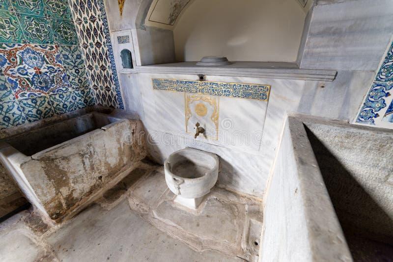 Interior del harén, palacio de Topkapi, Estambul, Turquía foto de archivo libre de regalías