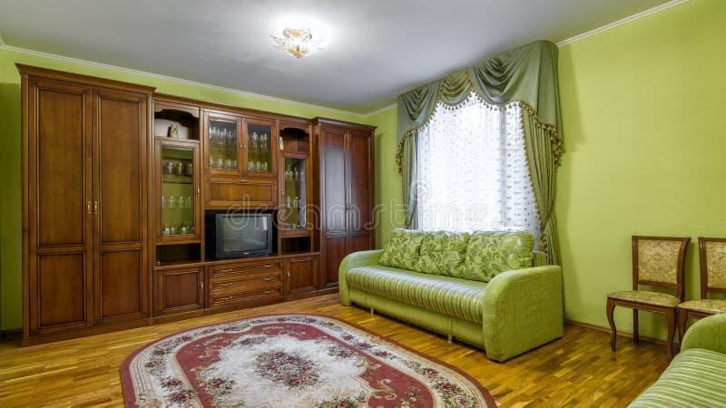 Interior del hotel o del hogar en estilo soviético fotos de archivo libres de regalías