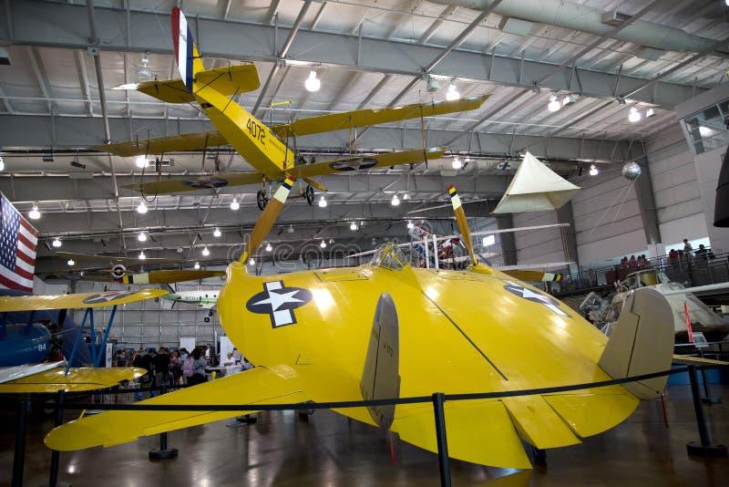 Interior del museo Dallas del vuelo de las fronteras imagen de archivo libre de regalías
