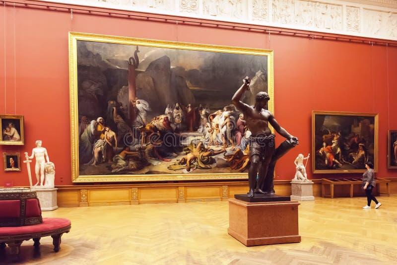 Interior del museo ruso del estado en St Petersburg, Rusia fotos de archivo libres de regalías