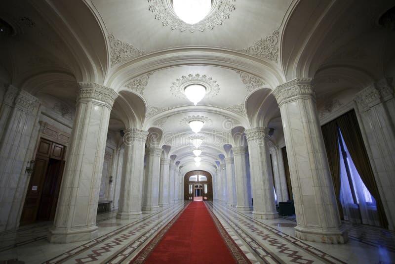 Interior del pasillo imágenes de archivo libres de regalías