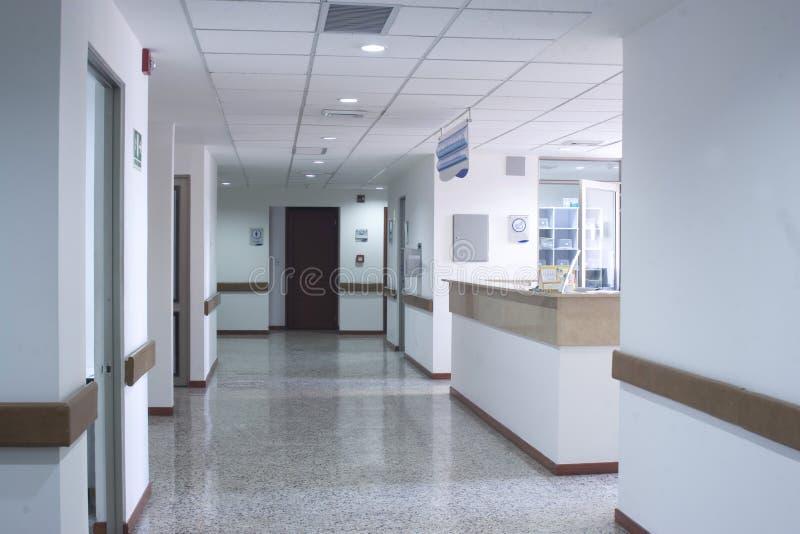 Interior del pasillo dentro fotos de archivo