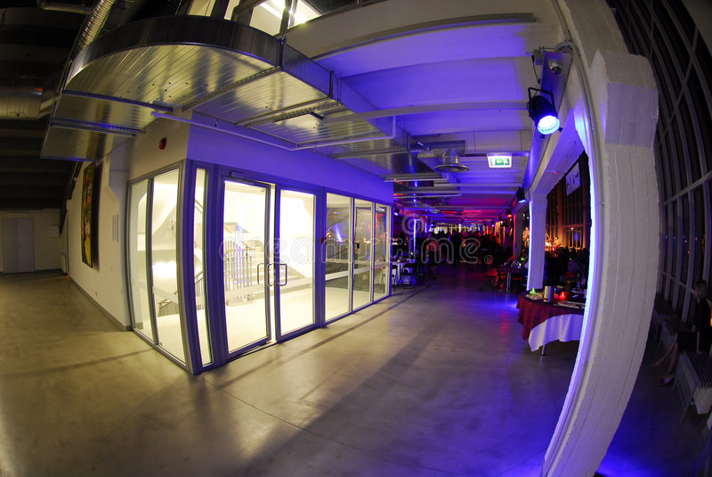 Interior del pasillo moderno fotografía de archivo libre de regalías