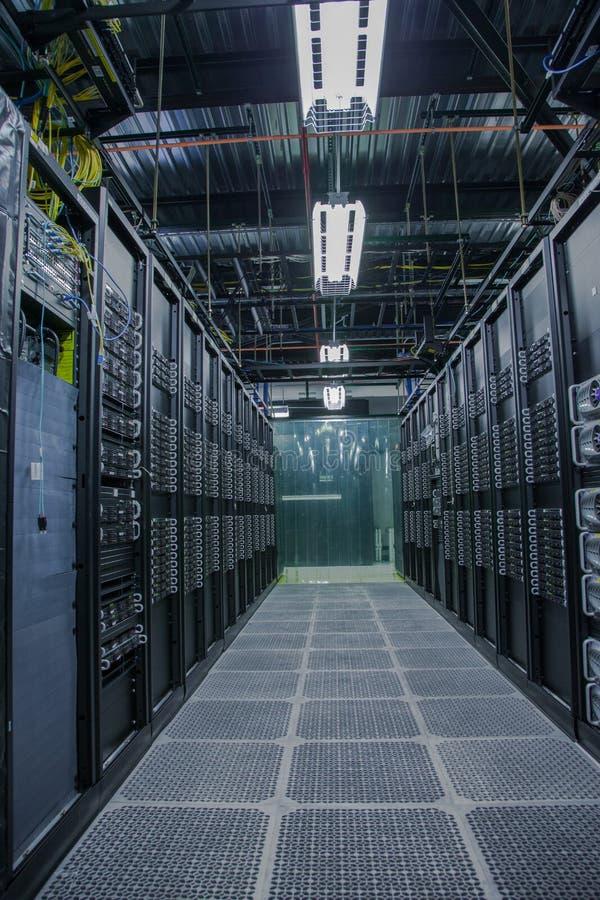 Interior del sitio del servidor del ordenador fotos de archivo libres de regalías