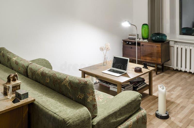 Interior del sitio en casa fotos de archivo