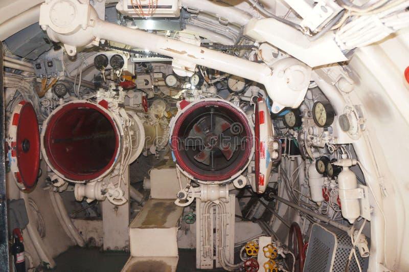Interior del submarino imagen de archivo editorial imagen for Interior submarino