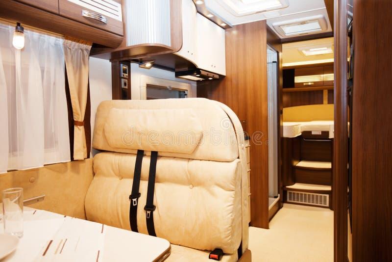 Interior del vehículo recreativo fotos de archivo libres de regalías