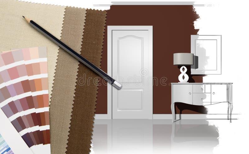 Download Interior design stock image. Image of home, color, decorative - 22002769
