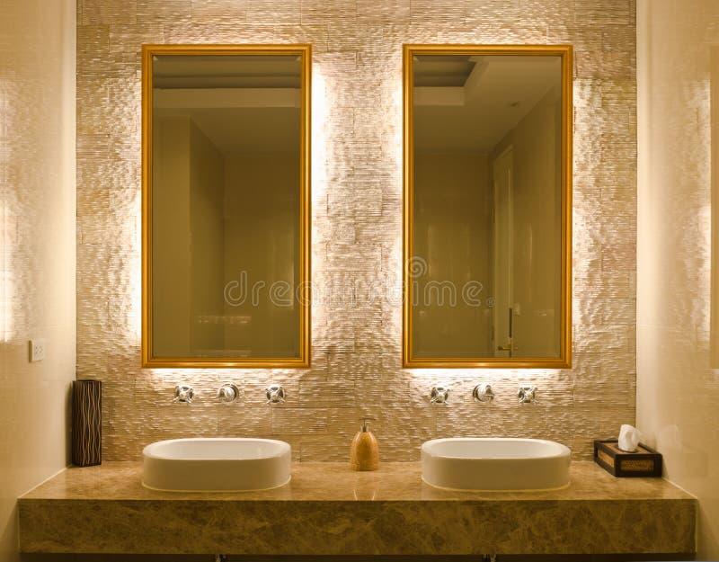 Download Interior Design Of A Bathroom Stock Photo - Image of fashion, decor: 21406602