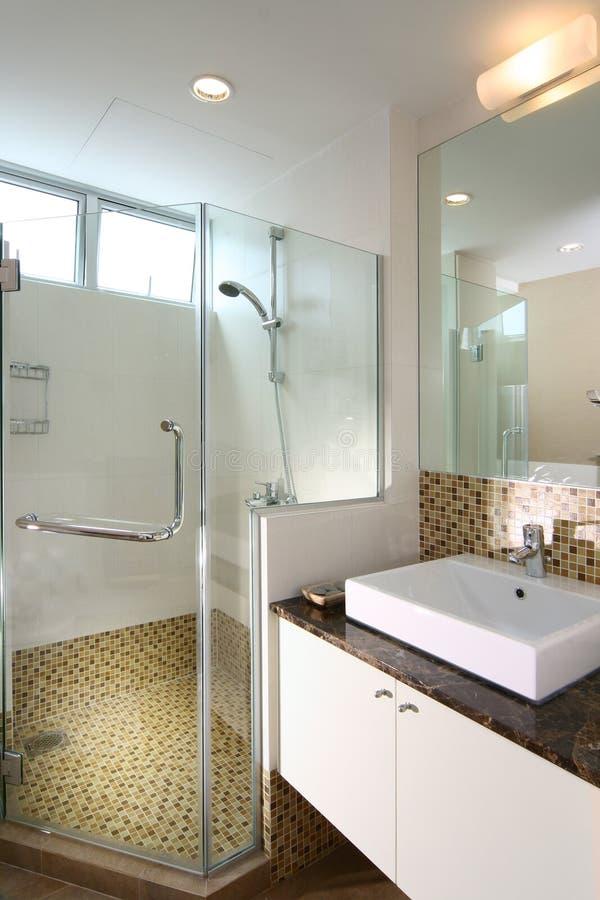 Interior design - bathroom stock photography