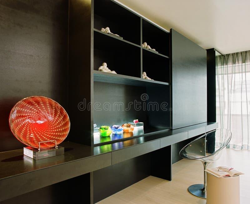 Interior design -bedroom royalty free stock image
