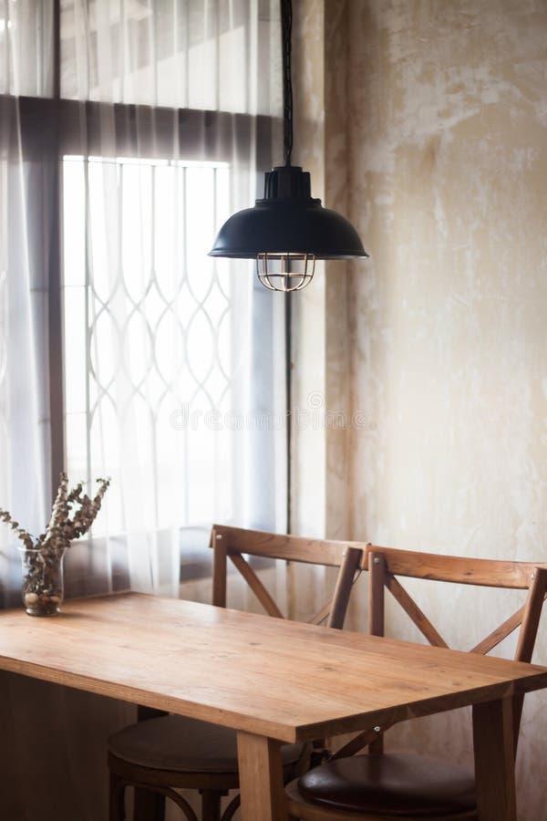 Interior design of coffee shop royalty free stock photo
