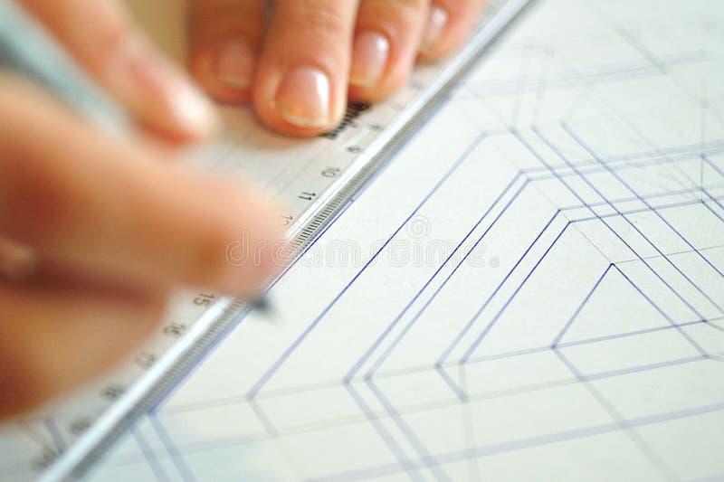 Download Interior design drawings stock image. Image of draft - 20642039