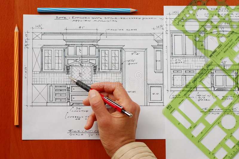 download interior design drawings stock photo image of building 3371756 - Interior Design Drawings
