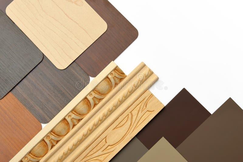 Interior design elements stock images