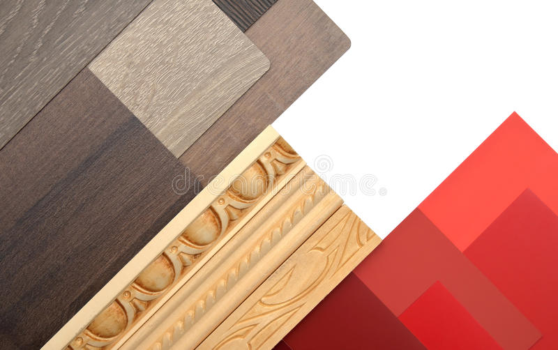 Interior design elements royalty free stock photo