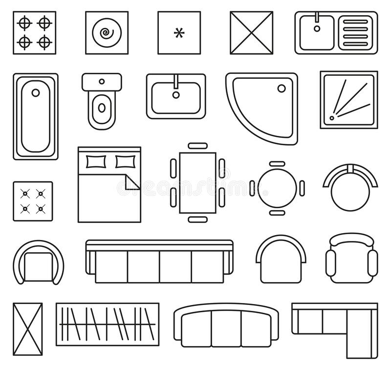 Floor Plan Icons Stock Illustrations 1 815 Floor Plan Icons Stock Illustrations Vectors Clipart Dreamstime