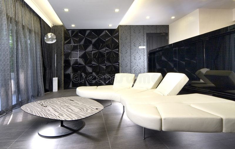 Interior design - living stock image