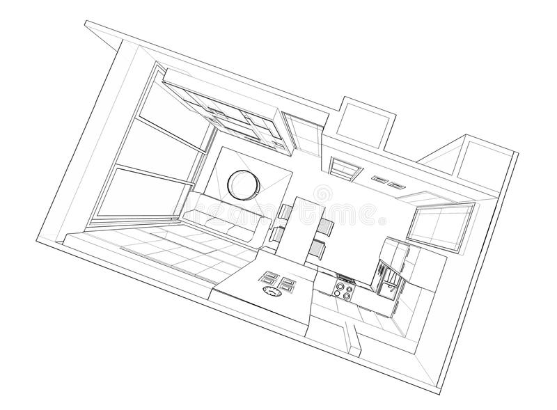 Interior design : living stock images