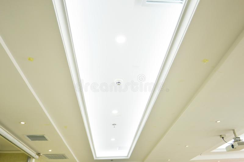 Roof Of Commercial Building  royalty free stock photo