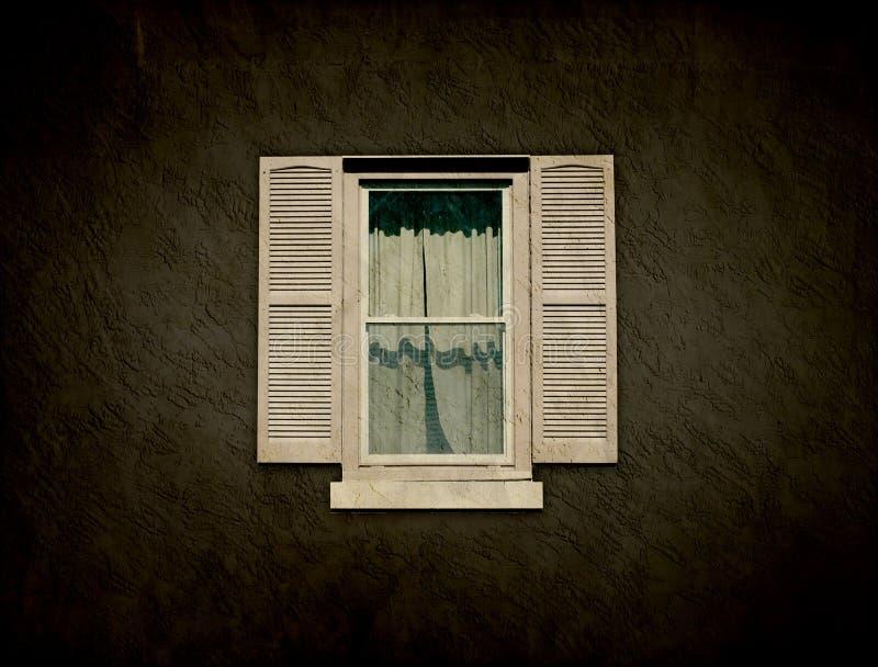 Interior Design - Vintage Window royalty free stock photo