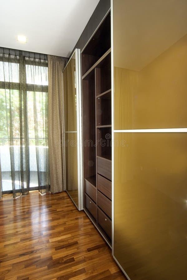 Download Interior design - wardrobe stock photo. Image of curtain - 2382420