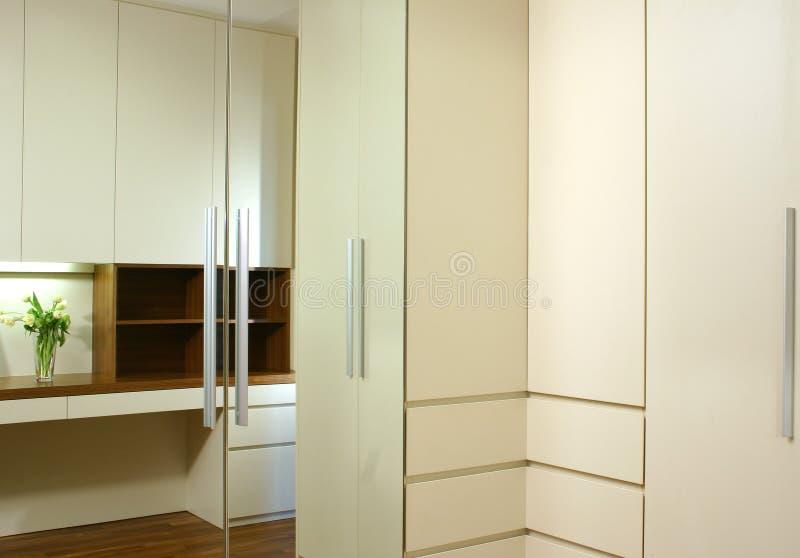 Interior design - wardrobe royalty free stock image