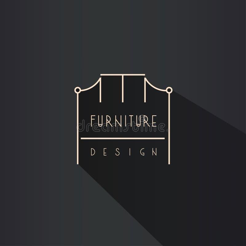 Interior Designer Brand Identity. Chair Line Logo ...