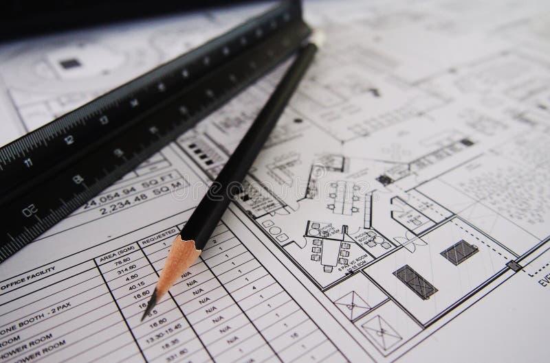 Interior designer tool royalty free stock image