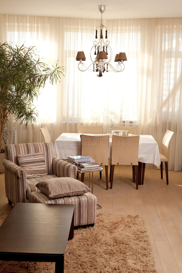 Download Interior Of Dining Room Stock Photo - Image: 17046790