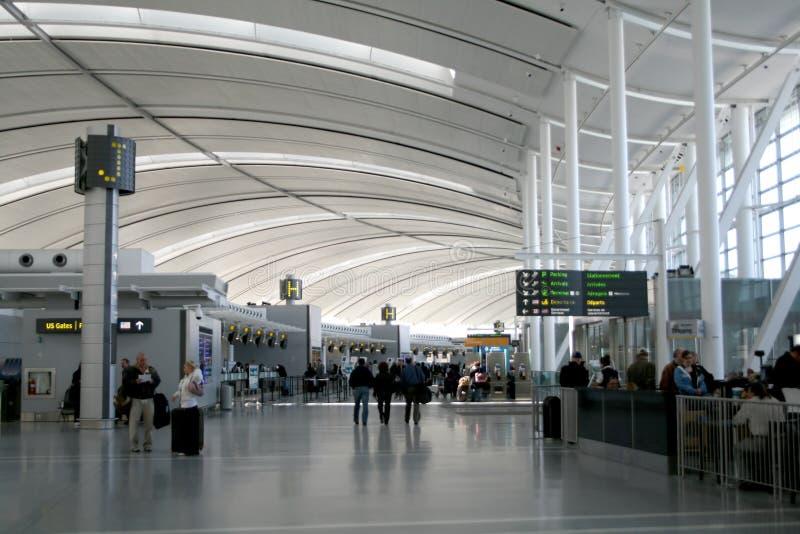 Interior do aeroporto imagem de stock royalty free
