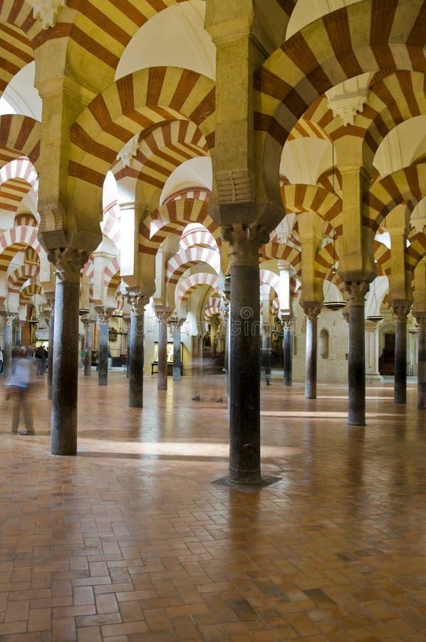 Interior do Alcazar, Córdova Spain imagens de stock
