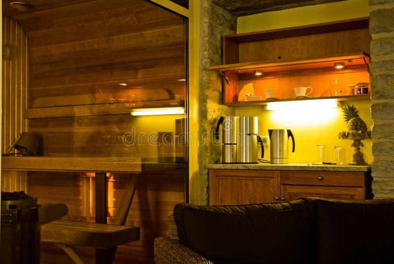 Interior do alojamento imagens de stock royalty free