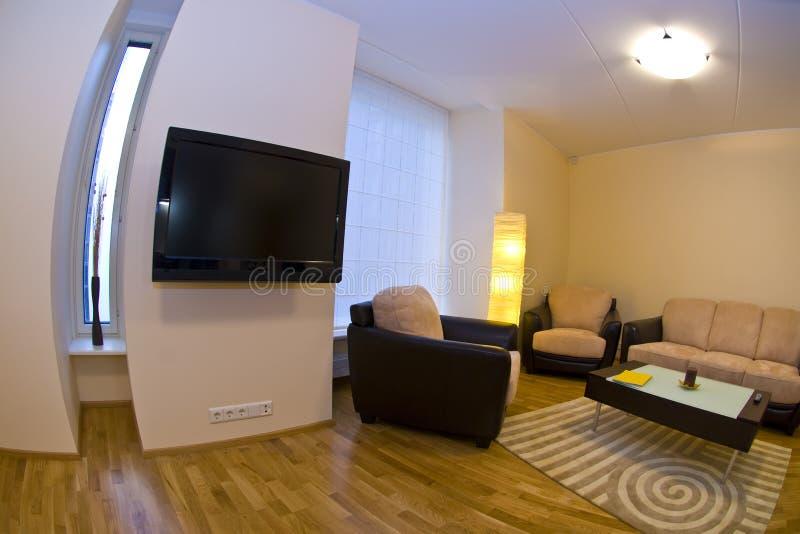 Interior do apartamento moderno fotos de stock