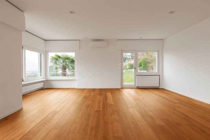 Interior do apartamento moderno, sala de visitas imagens de stock