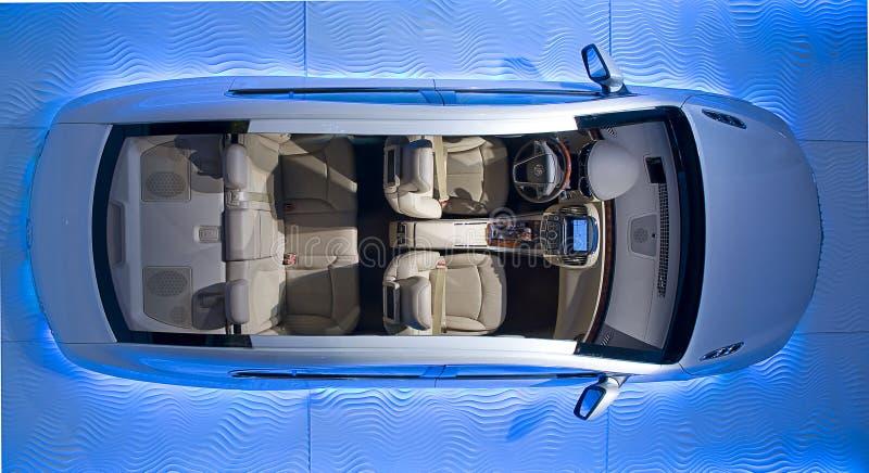 Interior do automóvel fotografia de stock royalty free
