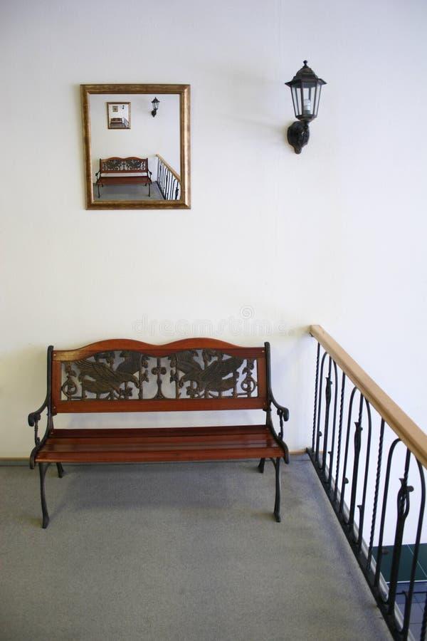 Interior do banco fotos de stock royalty free