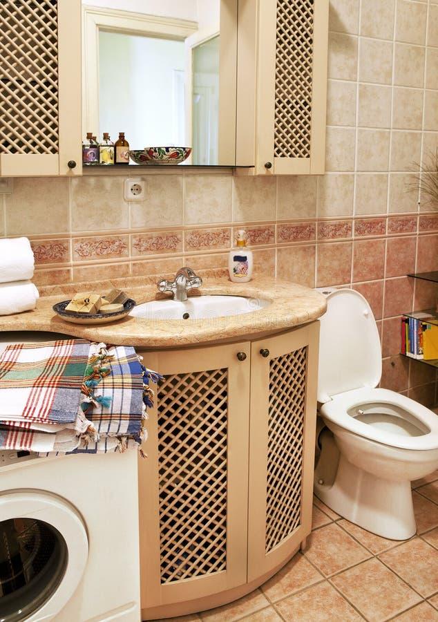 Interior do banheiro foto de stock royalty free